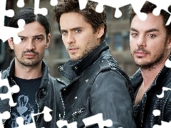 Tomo Milishevi, Shannon Leto, 30 Seconds To Mars, Lato Dzhaerd