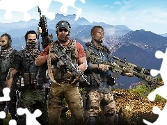Tom Clancys Ghost Recon : Wildlands, Żołnierze, Gra
