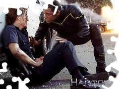 policjantka, ranna, Hancock, Will Smith