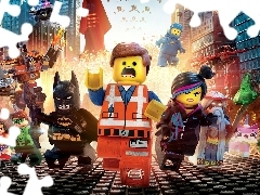 Postacie, Lego przygoda, The Lego Movie