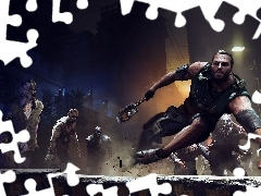 Agent Kyle, Zombie, Dying Light