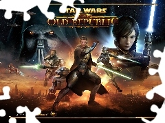 Gra, Old Republic, Postacie, Star Wars