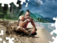 Gra, Pirat, Vass Montenegro, Far Cry 3