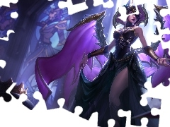 Morgana, Upadły Anioł, League of Legends, Postać, Gra