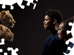 The Lion King, Nala, Shahadi Wright Joseph, Simba, JD McCrar