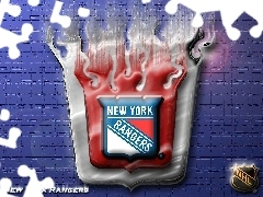 New York Rangers, NHL, Logo, Drużyny